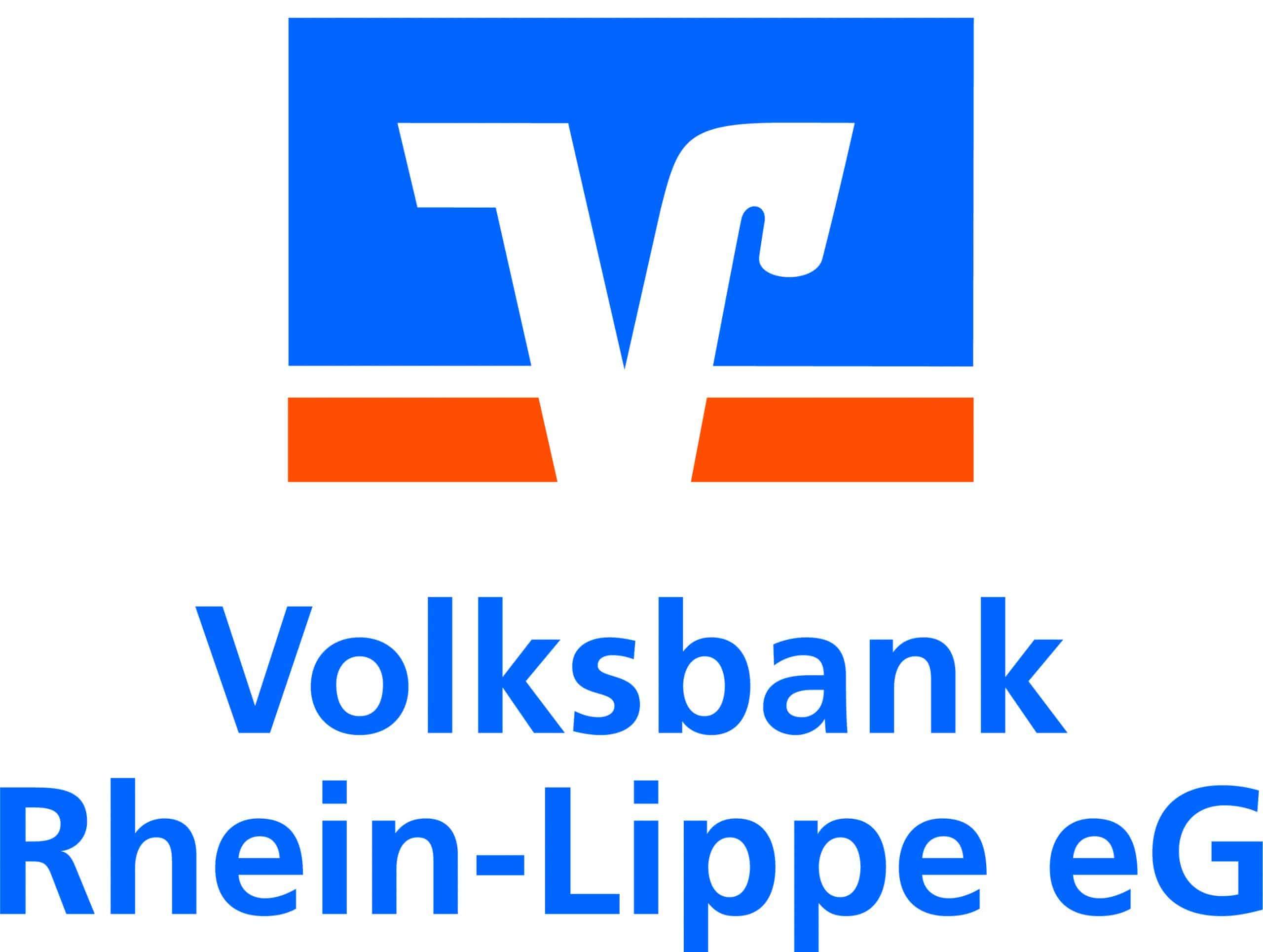 Das Bild zeigt das Logo der Volksbank Rhein-Lippe eG