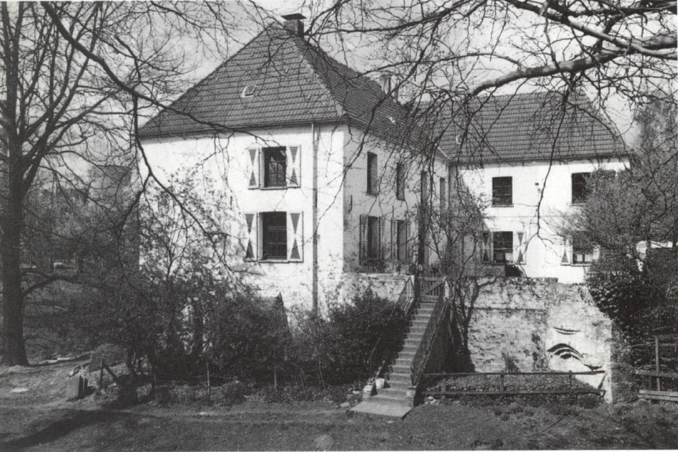 Das Bild zeigt Haus Götterswickerhamm im Jahre 1997